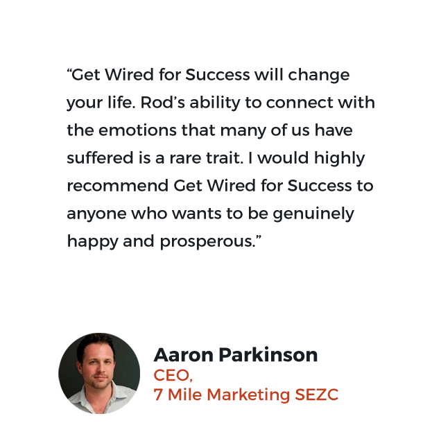 Aaron Parkinson's testimonial