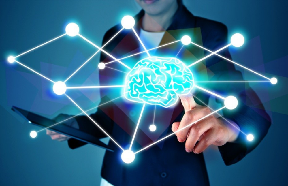 image showing a young woman rewiring her brain